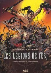 Les Legions De Fer T.1 ; Urkhan Le Prince Eneide - Intérieur - Format classique