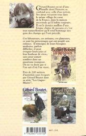 Petits Metiers Oublies T3 - 4ème de couverture - Format classique