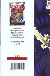 Yu-Gi-Oh t.24 - 4ème de couverture - Format classique