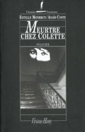 Meurtre chez Colette - Couverture - Format classique