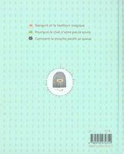 Trois contes malins - 4ème de couverture - Format classique