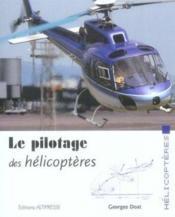 Le pilotage des hélicoptères - Couverture - Format classique