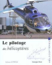 Le pilotage des hélicoptères - Intérieur - Format classique