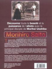 Takemusu aikido t.5 ; bukidori et ninindori - 4ème de couverture - Format classique