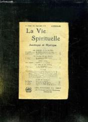 LA VIE SPIRITUELLE TOME LXII N° 2. 1er FEVRIER 1940. + SUPPLEMENT DE LA VIE SPIRITUELLE. - Couverture - Format classique