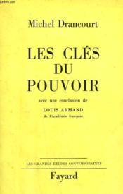 Les Cles Du Pouvoir. - Couverture - Format classique