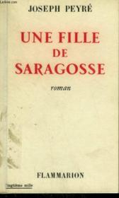 Une Fille De Saragosse. - Couverture - Format classique