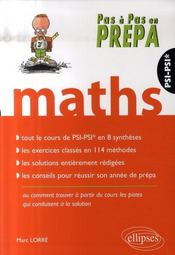 Mathématiques psi-psi* - Intérieur - Format classique