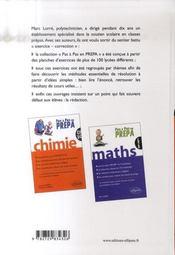 Mathématiques psi-psi* - 4ème de couverture - Format classique