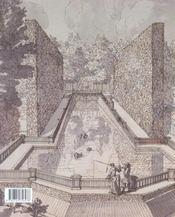 Jardins De Russie - 4ème de couverture - Format classique