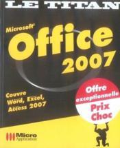 Office 2007 - Couverture - Format classique