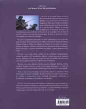 VOYAGE AU PAYS DU SOUVENIR. Sur les traces de la Première Guerre mondiale, des Flandres à l'Alsace - 4ème de couverture - Format classique