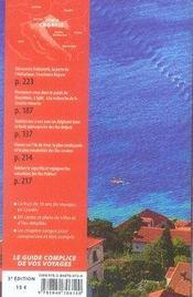 Croatie (3e édition) - 4ème de couverture - Format classique