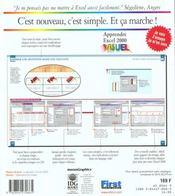 Apprendre Excel 2000 - 4ème de couverture - Format classique