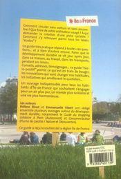 La boîte à idées de l'écocitoyen en île-de-france - 4ème de couverture - Format classique