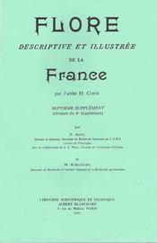 Flore descriptive et illustrée de la France ; septième supplément - Intérieur - Format classique