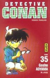 Detective Conan T35 - Couverture - Format classique