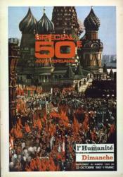 Humanite Dimanche (L') N°1000 du 22/10/1967 - Couverture - Format classique