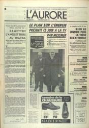 Aurore (L') N°9178 du 06/03/1974 - Couverture - Format classique