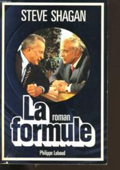 La Formule. - Couverture - Format classique