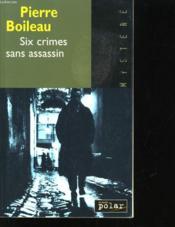 Six Crimes Sans Assassin - Couverture - Format classique