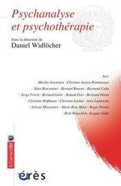 Psychanalyse et psychothérapie - Intérieur - Format classique