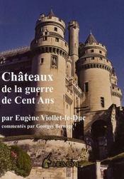 Châteaux de la guerre de cent ans - Intérieur - Format classique