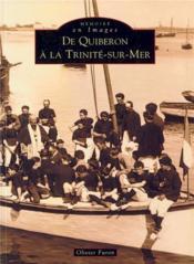 De Quiberon à la Trinité-sur-Mer - Couverture - Format classique