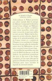 Cahier nomade - 4ème de couverture - Format classique