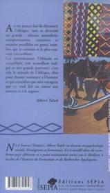Chroniques africaines de Casa à Tana - 4ème de couverture - Format classique