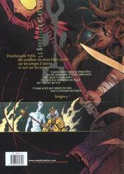 Le Souffleur De Reves T.1 ; La Necropole Des Soupirs - 4ème de couverture - Format classique