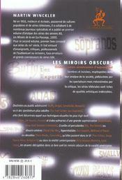 Les Miroirs Obscurs - 4ème de couverture - Format classique