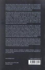 Sorcieres D' Hollywood (Les) - 4ème de couverture - Format classique