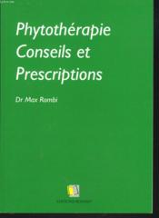 Phytotherapie - Couverture - Format classique