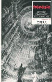 Frenesie N.7 ; Opéra - Couverture - Format classique