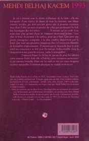 1993 - 4ème de couverture - Format classique