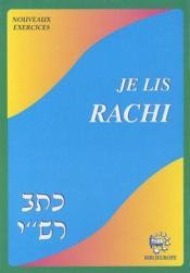 Je lis Rachi nouveaux exercices - Couverture - Format classique