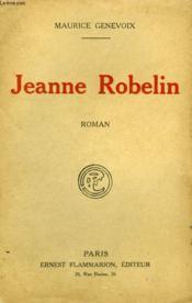 Jeanne Robelin. - Couverture - Format classique