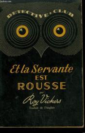Et La Servante Est Rousse ! Collection Detective Club N° 34 - Couverture - Format classique