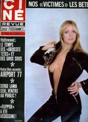 Cine Revue - Tele-Programmes - 57e Annee - N° 7 - Airport 1977 - Couverture - Format classique