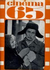 CINEMA 65 N° 97 - LE FESTIVAL DE CANNES - XXe ANNIVERSAIRE DE LA F.F.C.C. - Couverture - Format classique