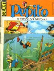 Pepito - Le Tresor Des Bifteques N°40 - Couverture - Format classique