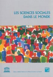Les Sciences Sociales Dans Le Monde - Intérieur - Format classique