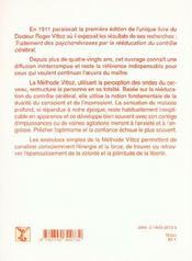 Traitement Des Psychonevroses Par La Reeducation Du Controle Cerebral - 4ème de couverture - Format classique