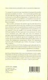 20 Defis Pour La Planete, 20 Ans Pour Y Faire Face - 4ème de couverture - Format classique