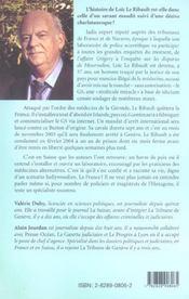 Loïc Le Ribault. ''Savant Maudit ? '' - 4ème de couverture - Format classique