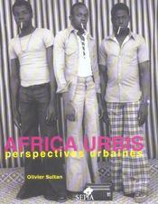 Africa urbis, perspectives urbaines - Intérieur - Format classique