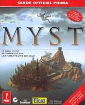 Myst. Le Guide Officiel De Jeu - Intérieur - Format classique
