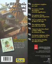 Myst. Le Guide Officiel De Jeu - 4ème de couverture - Format classique