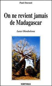 On ne revient jamais de Madagascar - Intérieur - Format classique